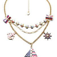 Sailor Layered Necklace