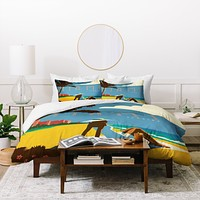Anderson Design Group Miami Duvet Cover