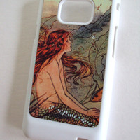 Fun Samsung Galaxy 2 Phone Case Little Mermaid