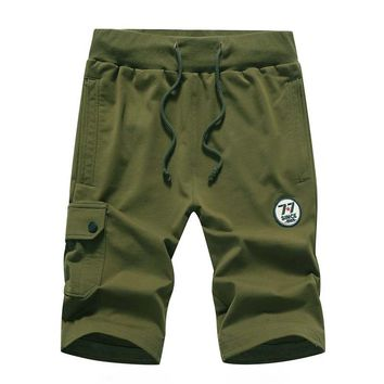 Brand Casual military cotton mens shorts fitness crossfit male short pants summer men Joggers Trousers board cargo beach shorts