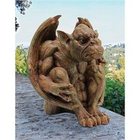SheilaShrubs.com: Balthazar's Watch Gargoyle Sculpture JE11209101 by Design Toscano: Garden Sculptures & Statues
