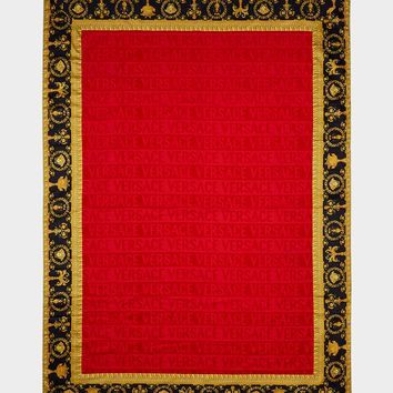 Versace I ♡ Baroque Jacquard Bath Towel - Home Collection   US Online Store