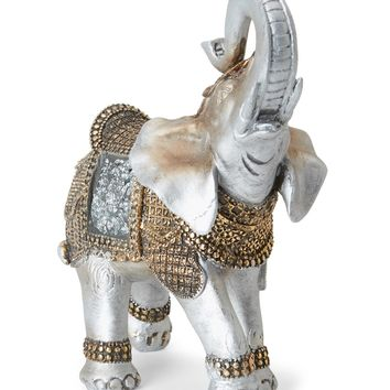 Decorative African Boho Elephant Statue