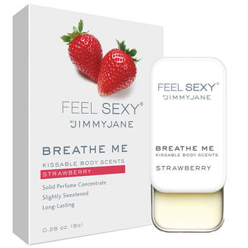 Jimmyjane Feel Sexy Breathe Me Body Scents - Strawberry (.28 oz)