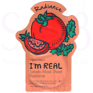 TonyMoly I'm Real Face Mask Sheet - Tomato