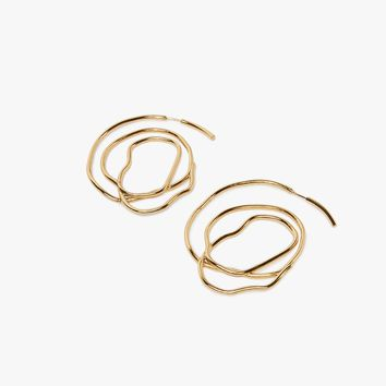 Ellery / Forbidden Fruit Large Coil Earrings