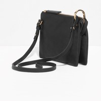& Other Stories | D-Ring Crossbody Bag | Purple