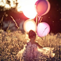 girl and ballnoons