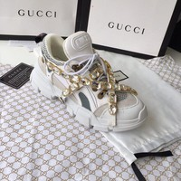 Gucci Flashtrek Sneaker With Crystals #1211