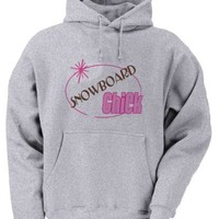 SNOWBOARD Chick Youth Hooded Sweatshirt (for Kids) in Various Colors