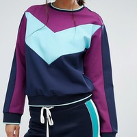 Juicy Couture Color Block Sweat at asos.com