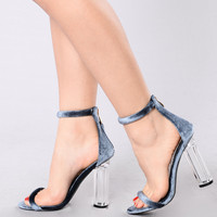 Saturday Night Diva Heel - Blue
