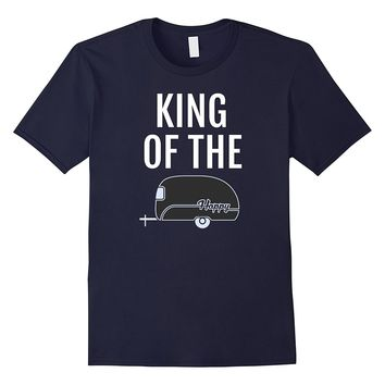 Camping T-Shirt - King of the Camp Funny Camper Shirt
