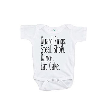Custom Party Shop Baby Boy's Funny Ring Bearer Wedding Onepiece