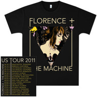 Florence and The Machine Triangle Album T-Shirt