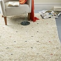 Cozy Textured Wool Rug - Multi