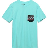 Hurley Moab Pocket T-Shirt - Mens Tee - Purple