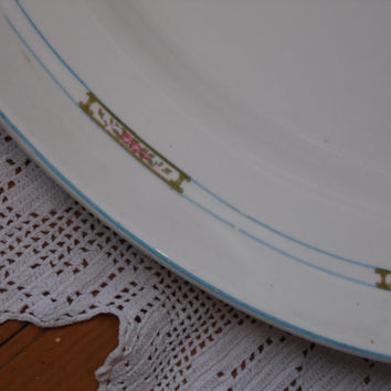FREE SHIPPING - Serving Platter/ Steubenville China/Vintage Platter/Decorative Plate