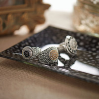 Poetic, Radiance, & Stretch Stone Rings by Lottie Dotties - Ryan's Daughters