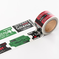 Cinema Ticket Washi Tape