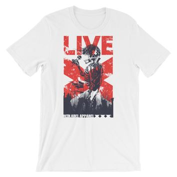 Live Short-Sleeve Unisex T-Shirt