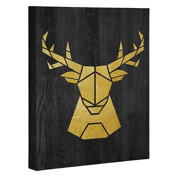 Nick Nelson Deer Symmetry Art Canvas