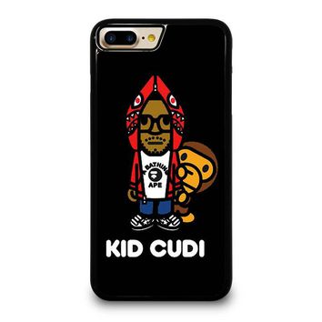 KID CUDI BAPE SHARK iPhone 4/4S 5/5S/SE 5C 6/6S 7 8 Plus X Case