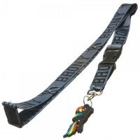 My Little Pony Brony Buckle Lanyard with Rubber Rainbow Dash Charm