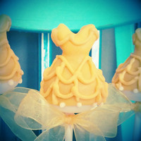 Mom's Killer Cake Pops Princess Ballgown Ball Gown Dress Matches Our Pumpkin Coach, Elegant Swirl, and Pumpkins Your Colors Available!!