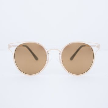 Flat Framed Mirrored Sunnies