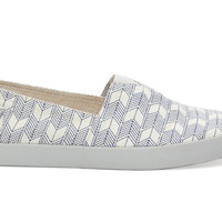 TOMS Angora Sashiko Men's Avalon Sneakers White