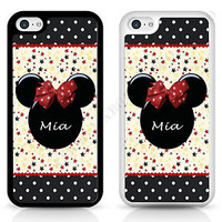 Mini Mickey Mouse Disney Personalised Cover Case Disney for iPhone Samsung Sony