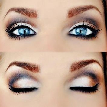 Eye Makeup for Blue Eyes – Selection Tips | Live Beauty Tips
