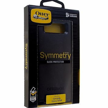 OtterBox Symmetry Series Slim Case Cover for Samsung Galaxy Note 8 - Black