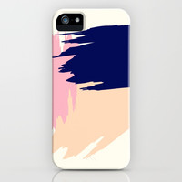 Pink Blush iPhone Case by spaceandlines