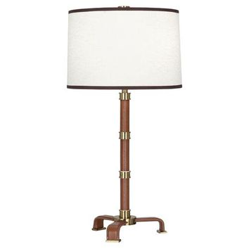 JONATHAN ADLER VOLTAIRE TABLE LAMP WITH SHADE