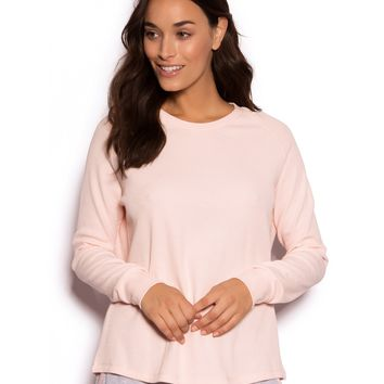 Egg Hunt Long Sleeve Tee - Blush Pink