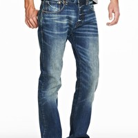 Rugged Bootcut Jean - Denim - Mens - Armani Exchange