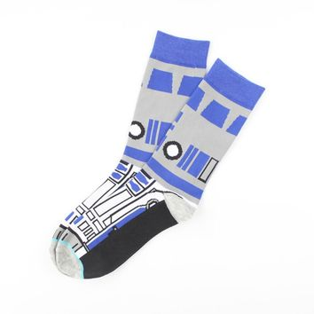 New spring and summer thin section Star Wars series stockings casual fashion tide men socks