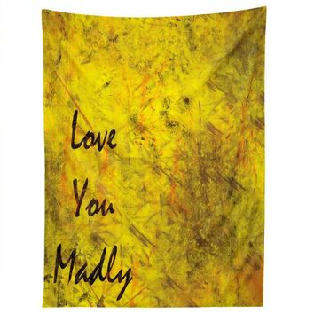 Love You Madly wall tapestry