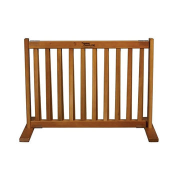 Dynamic Accents Free Standing Expandable Small Pet Gate - Artisan Bronze