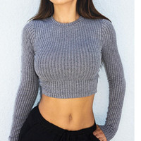 Winter Stylish Sexy Backless Tops [9143467076]