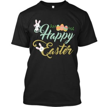 Easter Bunny Shirt For Boys Kids Girls Happy Easter Egg Hunt1 Custom Ultra Cotton