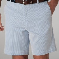 Corded Cotton Shorts