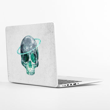 Cosmic Skull Laptop Skin