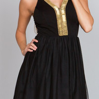 Divine Black Party Dress