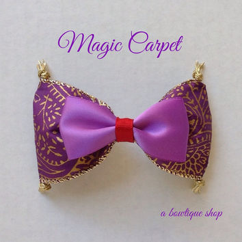magic carpet hair bow
