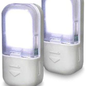 Amerelle 71185 LED Drawer and Cabinet Lites 2-Pack, White