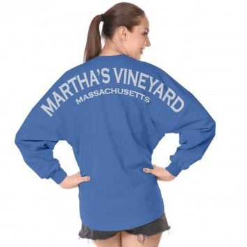 Martha's Vineyard Massachusetts Spirit Football Jersey®