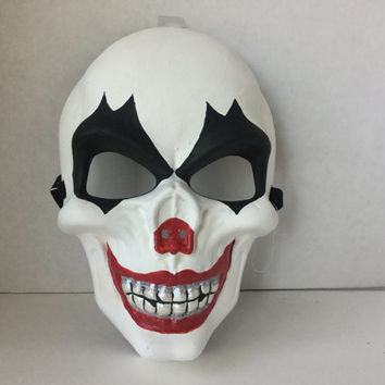 Mask, Halloween a Mask, Skull, Day of Dead Mask, Sugar Skull , Mask, Smiling Skull Mask, Day of dead Mask, Art Mask, Wall Hanging Mask